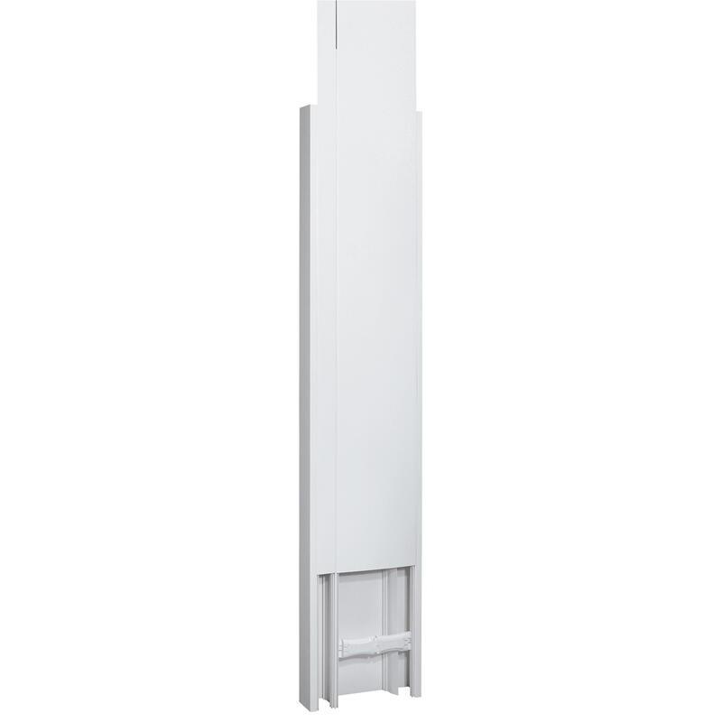 Goulotte GTL DRIVIA 13 Premium 65x250mm 2 couvercles partiels - longueur réglable 2,45m à 2,60m LEGRAND