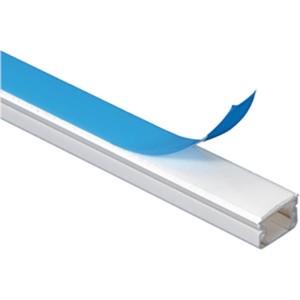 Guide-câbles avec adhésif pour plusieurs câbles 16x16mm - blanc - longueur 2,10m LEGRAND