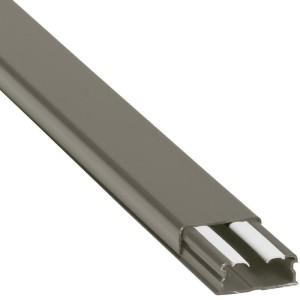 Guide-câbles marron 32x12,5mm grande capacité 1 compartiment - longueur 2,1m LEGRAND