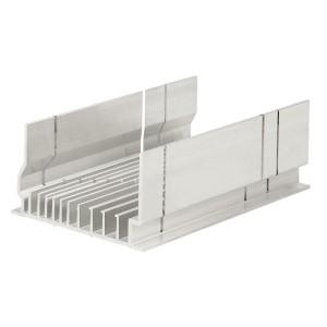 Boîte à coupe en aluminium DLPlus pour tous profilés plastique LEGRAND