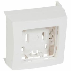 Cadre Appareillage saillie 1 poste pour pose sur moulure DLPlus épaisseur 16mm - blanc LEGRAND
