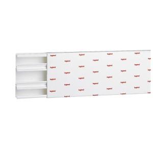 Moulure DLPlus 40x16mm 2 compartiments longueur 3m - blanc LEGRAND