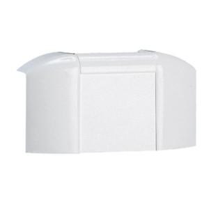 Dérivation à plat mur et plafond pour moulure DLPlus 32x16mm ou 40x16mm - blanc LEGRAND