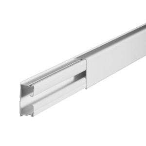 Moulure DLPlus 40x20mm 1 compartiment longueur 3m - blanc LEGRAND