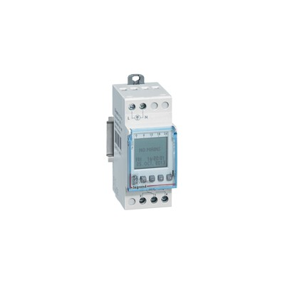 Inter horaire programmable digital - auto - multifonction - 1 sortie 16A - 24V~ LEGRAND