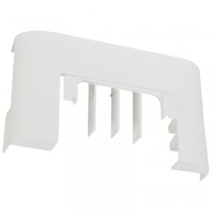 Dérivation vers passage de sol pour moulure DLPlus 60x20mm ou 75x20mm - blanc LEGRAND