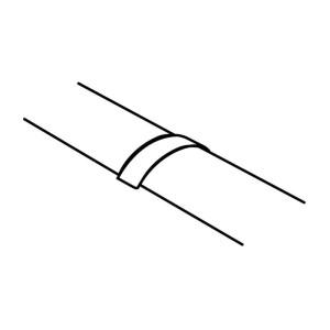 Joint de couvercle pour passage de plancher 92x20mm LEGRAND