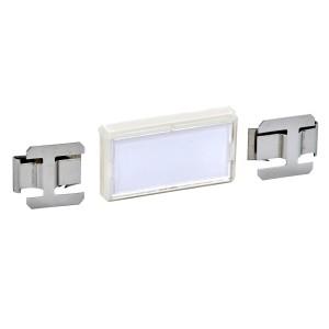 Etiquettes clipsables 25x85 Prisma - Lot de 12 SCHNEIDER