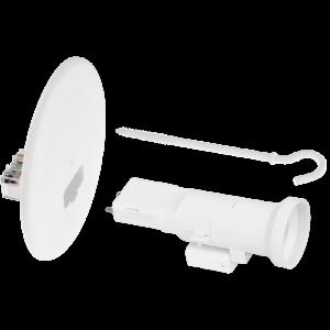 Kit couvercle DCL diamètre 120mm + piton 100mm + douille E27 EUR'OHM
