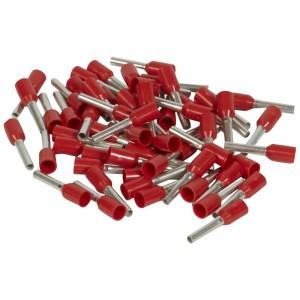 Embouts de câblage à collerette isolante Starfix simple unitaire pour conducteurs section 1mm² - rouge LEGRAND
