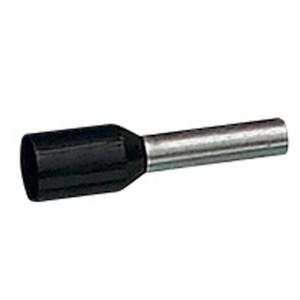 Embouts de câblage à collerette isolante Starfix simple unitaire pour conducteurs section 1,5mm² - noir LEGRAND