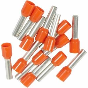 Embouts de câblage à collerette isolante Starfix simple unitaire pour conducteurs section 4mm² - orange LEGRAND