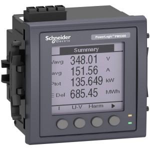 Centrale de mesure PowerLogic PM5320 - Ethernet - mémoire - 2E/2S SCHNEIDER