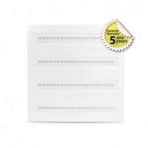 Plafonnier LED PMMA 595x595 30W 4000K UGR inférieur à 16 - blanc VISION EL