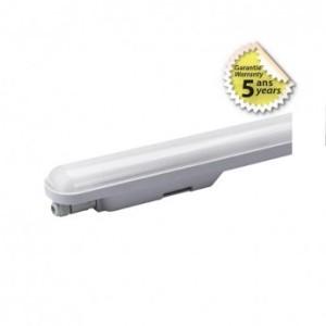 Boitier étanche LED intégrées traversant 20W 4000K IP65 600x70x68mm VISION EL