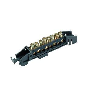 Bornier répartiteur - 80A - 8 trous - PrismaSeT G Active SCHNEIDER