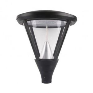 Tête de lampadaire piéton 230V série YS5 60W IP65 IK10 3000°K VISION EL