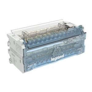 Répartiteur modulaire à barreaux étagés bipolaire 40A 12 départs - 6 modules LEGRAND