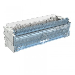 Répartiteur modulaire à barreaux étagés bipolaire 125A 14 départs - 8 modules LEGRAND