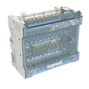 Répartiteur modulaire à barreaux étagés tétrapolaire 40A 12 départs - 6 modules LEGRAND