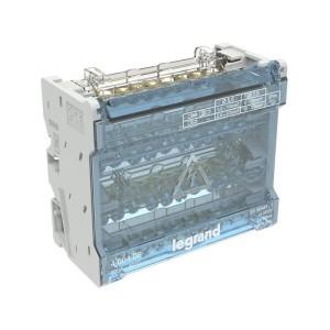 Répartiteur modulaire à barreaux étagés tétrapolaire 100A 10 départs - 6 modules LEGRAND