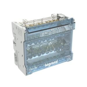 Répartiteur modulaire à barreaux étagés tétrapolaire 125A 10 départs - 6 modules LEGRAND