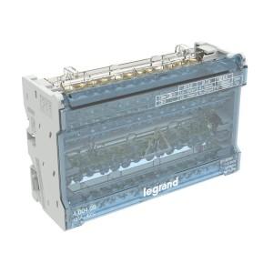 Répartiteur modulaire à barreaux étagés tétrapolaire 125A 14 départs - 8 modules LEGRAND