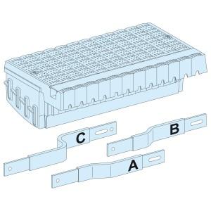 Répartiteur Compact NSX/INS/INV 100/250 fixe maneton 3P - jeux de barres LGY SCHNEIDER