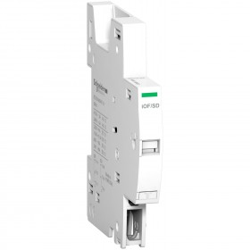 Contact auxiliaire OF + signal défaut SD - 240-415Vca 24-130Vcc - iC60 RCBO SCHNEIDER