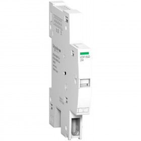 Contact auxiliaire OF + signal défaut SD +TI24 interface SmartLink - iC60 RCBO SCHNEIDER