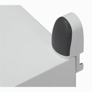 Pattes de fixation murale pour coffret Marina hauteur 400mm à 1200mm - pour charge 150kg LEGRAND