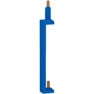 Peigne vertical de neutre pour interrupteur différentiel 25 à 63A - entraxe 125mm SCHNEIDER