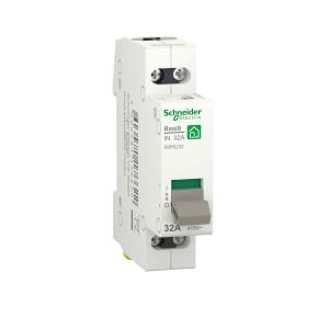 Interrupteur-sectionneur 32A - 2P - 2NO - 250VCA - Resi9 SCHNEIDER