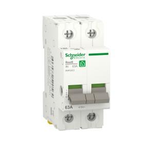 Interrupteur-sectionneur 63A - 2P - Resi9 SCHNEIDER
