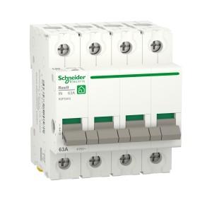 Interrupteur-sectionneur 63A - 4P - Resi9 SCHNEIDER