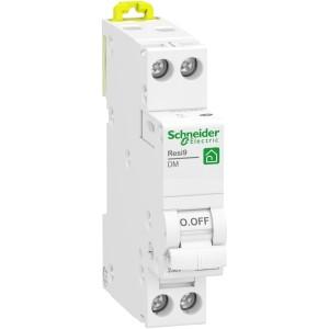 Disjoncteur 10A 1P+N - courbe D - peignable - Resi9 XP SCHNEIDER