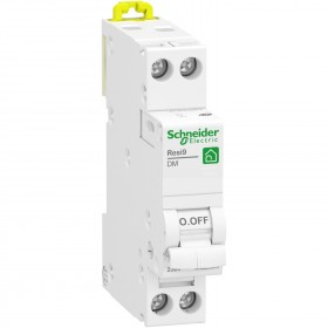 Disjoncteur 25A 1P+N - courbe D - peignable - Resi9 XP SCHNEIDER