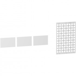 Grille universelle pour coffret Resi9 13 modules SCHNEIDER