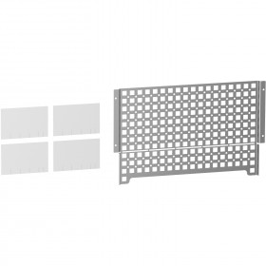 Grille universelle pour coffret Resi9 18 modules SCHNEIDER
