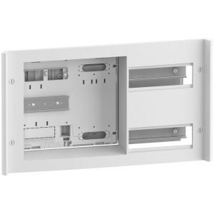 panneau de contrôle monophasé - 24 modules - compatible Linky - 2R - 2 x 7M DIN SCHNEIDER