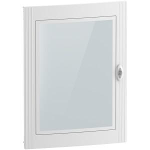 Porte transparente pour coffret 4 x 24 modules - Resi9 SCHNEIDER
