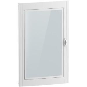 Porte transparente pour coffret 5 x 24 modules - Resi9 SCHNEIDER