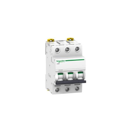 Disjoncteur 10A courbe D - 3P - Acti 9 iC60N SCHNEIDER