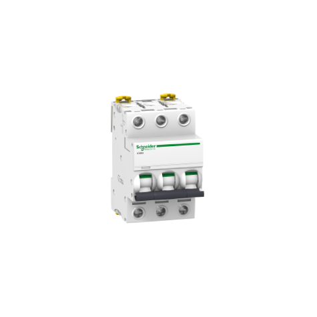 Disjoncteur 3P - 10A - courbe D - Acti 9 iC60N SCHNEIDER