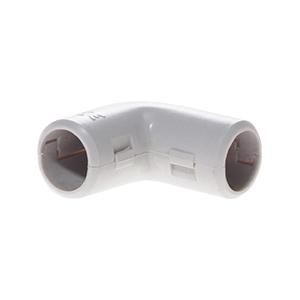 Coude pour tube IRL - diamètre 20 - gris EUR'OHM