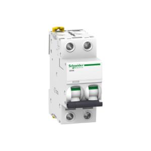 Disjoncteur - 2P - 2A - courbe C - Acti 9 iC60H SCHNEIDER