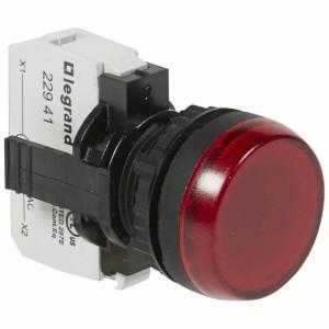 Voyant lumineux Osmoz complet IP69 rouge - 230V~ LEGRAND