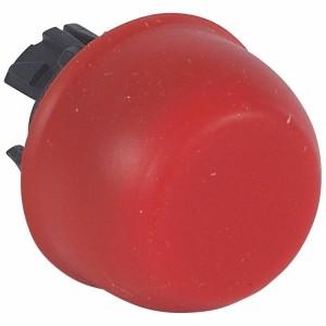 Tête à impulsion non lumineuse affleurante capuchonnée IP67 - rouge LEGRAND