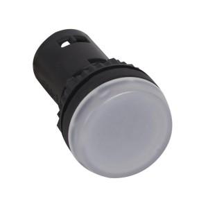 Voyant monobloc avec LED intégrée - blanc 24V LEGRAND