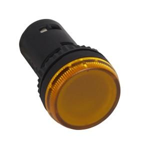 Voyant monobloc avec LED intégrée - jaune - 24V LEGRAND